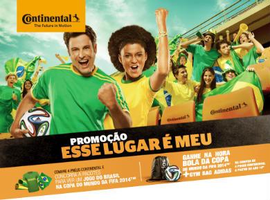 promoção continental