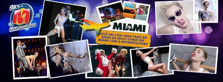 Promoção Miley Cyrus