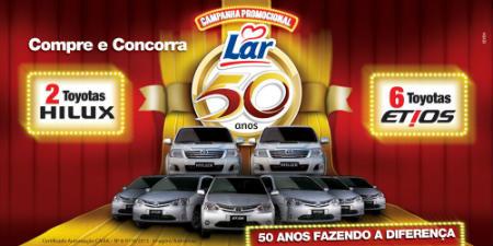Promoção 50 anos Cooperativa Lar