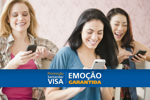 Promoção Santander Visa