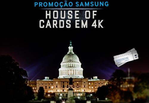 Promoção Samsung House of Cards