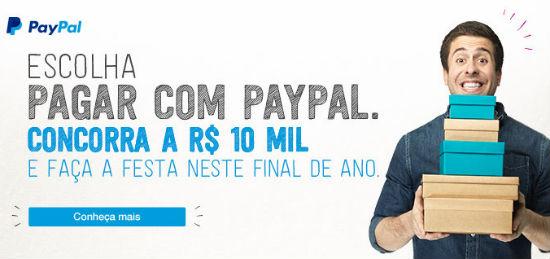 Promoção de Natal Paypal