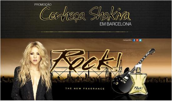 conheça Shakira em Barcelona