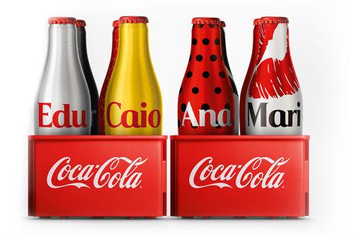 Coca Cola mini garrafinhas
