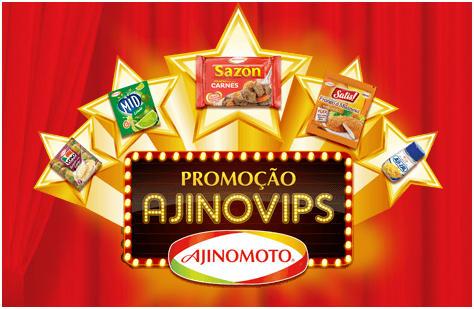 Promoção ajinomoto ajinovips