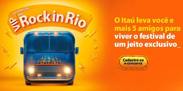Promoção Vip no Rock in Rio