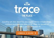 trace the place klm