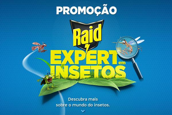 Promoção expert em insetos