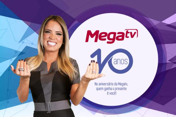 Mega TV 10 anos prêmios