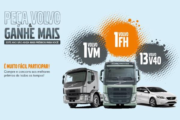 Peça Volvo e ganhe mais