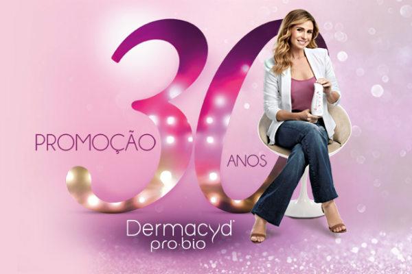 Promoção 30 anos Dermacyd