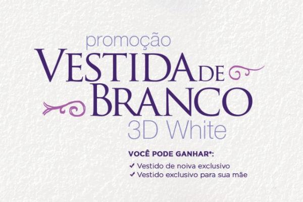 Promoção vestida de branco
