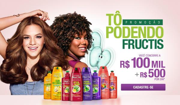 promoção fructis prêmios