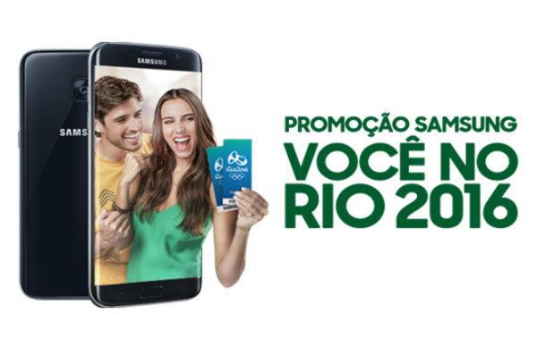 Promoção Samsung Rio 2016