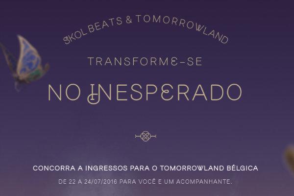 Vá ao Tomorrowland Bélgica