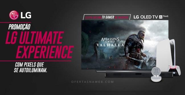 Promoção TV LG prêmios