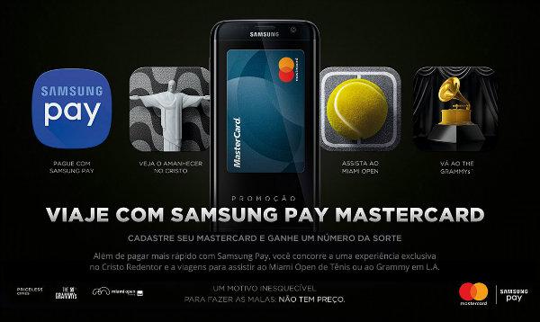 Promoção Samsung Pay Mastercard