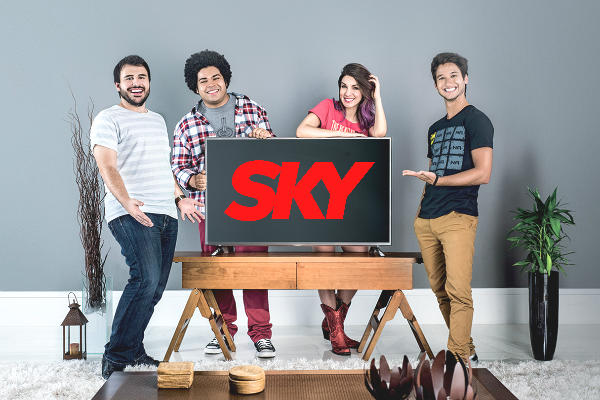 Promoção Sky Fúria de Titãs
