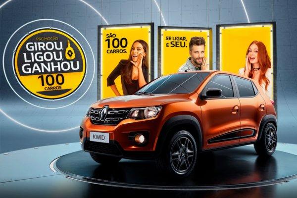 Promoção girou ligou ganhou Renault