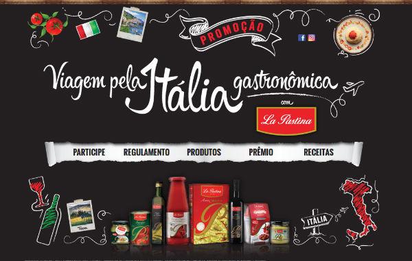 Promoção viagem pela Itália