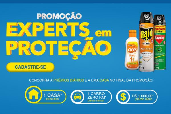 Promoção Experts em Proteção