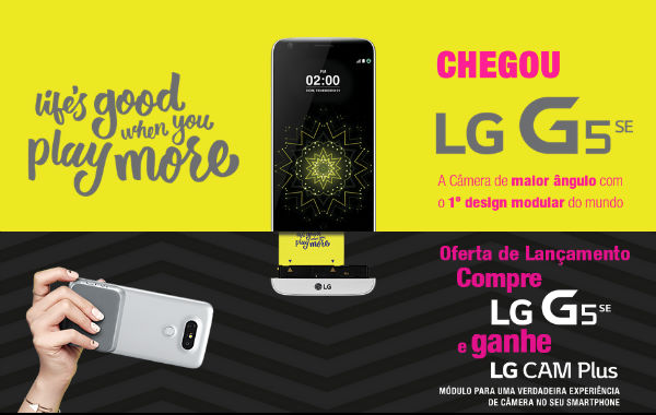 Promoção LG G5