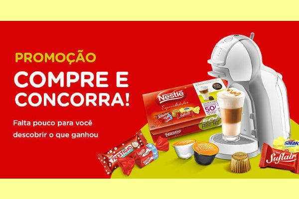 Promoção especialidades Nestlé