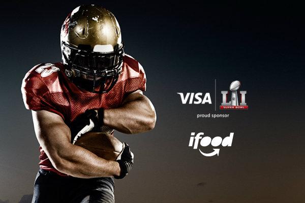 Promoção NFL Visa iFood