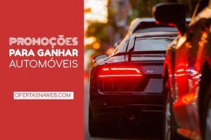 promoções ganhar automóveis