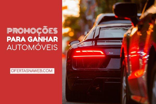 promoções para ganhar automóveis