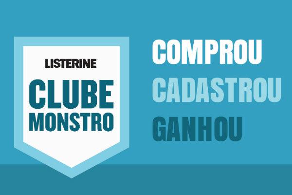 Listerine clube monstro