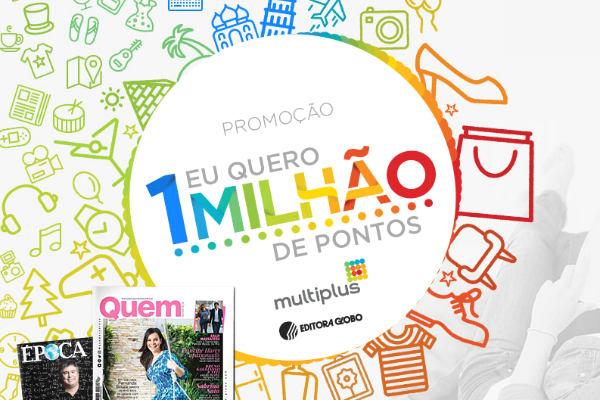 Promoção Editora Globo Multiplus