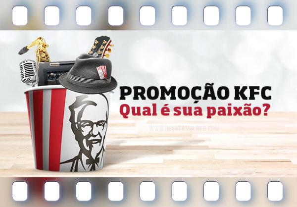 promoção kfc prêmios