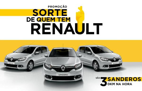 sorte de quem tem Renault