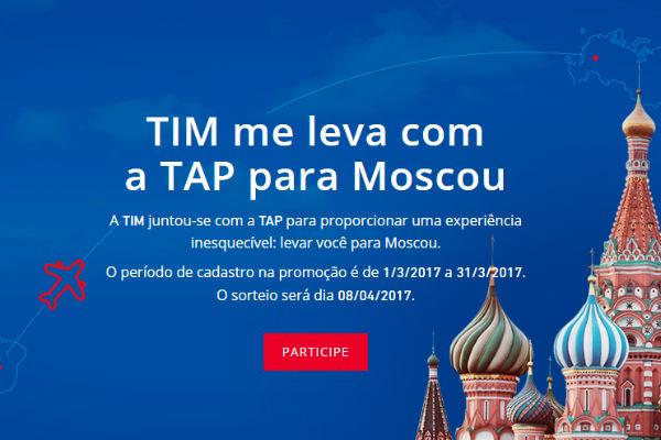 Viagem para Moscou TIM e TAP