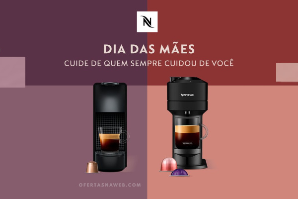 dia das m es nespresso com 200 reais em c psulas ofertas na web. Black Bedroom Furniture Sets. Home Design Ideas