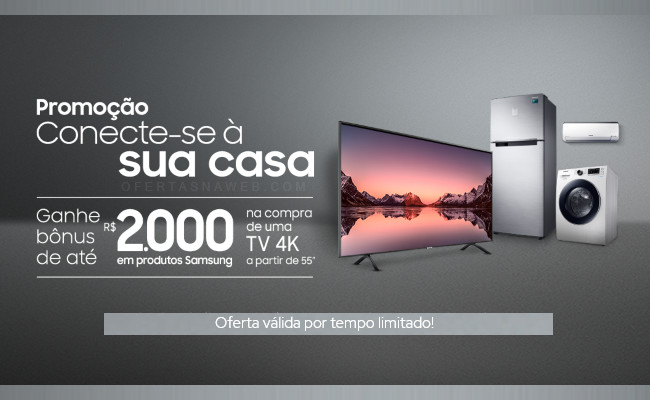 Kits com TV Samsung