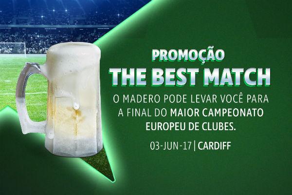 promoção madero champions league