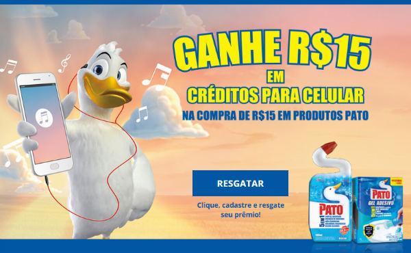 Promoção produtos Pato