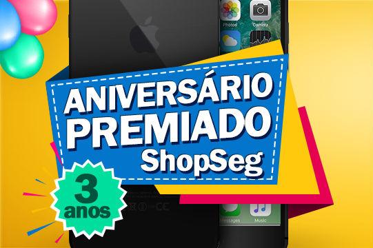 Promoção Shopseg aniversário premiado