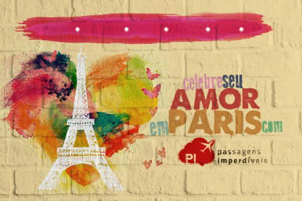 Celebre seu amor em Paris
