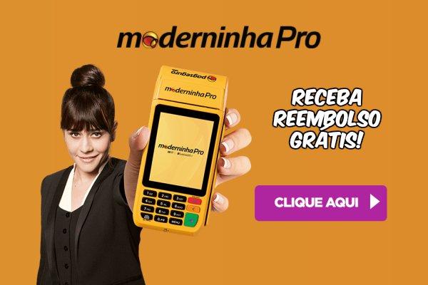 Promoção Moderninha Pro