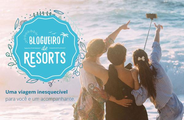 Concurso blogueiro de resorts