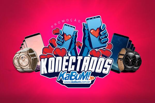 promoção konectados Kabum
