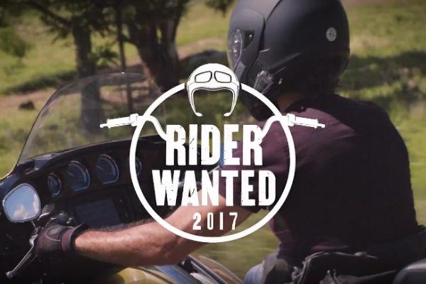 Promoção Rider Wanted 2017
