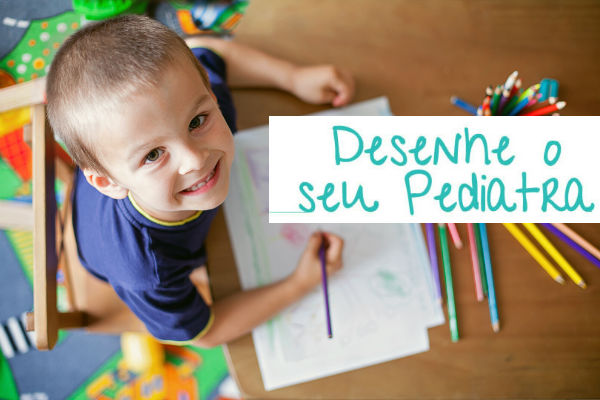 desenhe seu pediatra