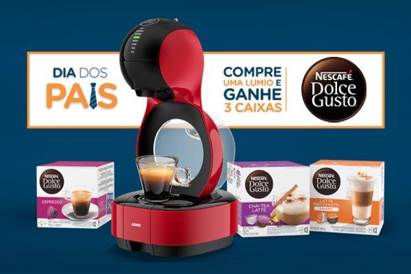 Promoção Nescafé Dolce Gusto