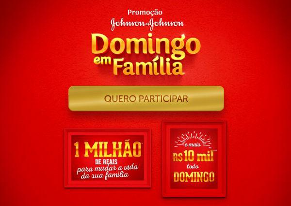 promoção domingo em família