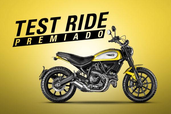 Promoção Ducati Test Ride