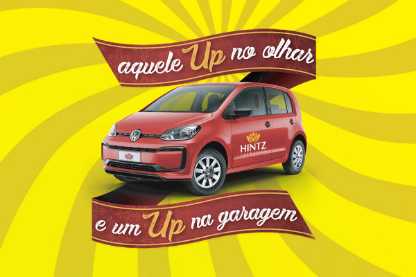 promoção sorteia Volkswagen UP